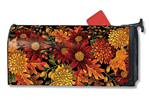 "OS Welcome Fall Mail Wrap, 8"" x 21"" Mailbox"