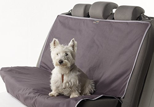 Animal Basics Water Proof REAR Seat Cover Anthracite/Grey