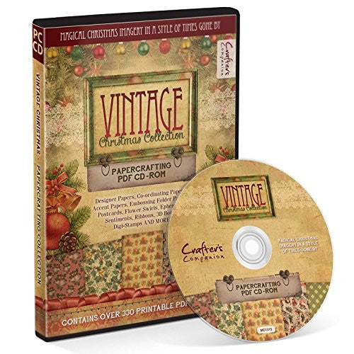 Vintage Christmas Collection - Papercrafting CD-ROM