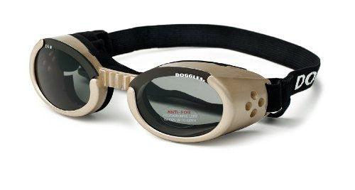 Chrome ILS Doggles with Light Smoke Lens - Large