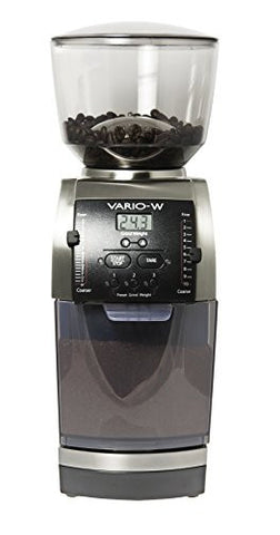 Vario-W Flat Ceramic Burr Weight-Based Grinder
