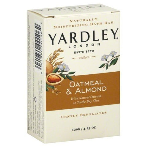 Unisex Yardley London Oatmeal & Almond Bar Soap - 4.25 oz.