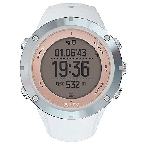 Suunto Ambit3 Sport GPS Sapphire Heart Rate Monitor Sapphire, One Size - Men's