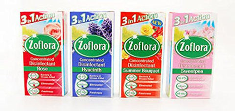 Zoflora Assortment D Concentrated Disinfectant (12X56ml)
