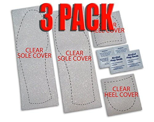 Mens Clear Protector, Pack of 3