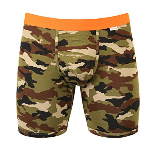 Weekday Boxer Brief - Camo/Orange - Medium