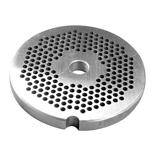 #10/12 Stainless Grinder Plate - 3/8""