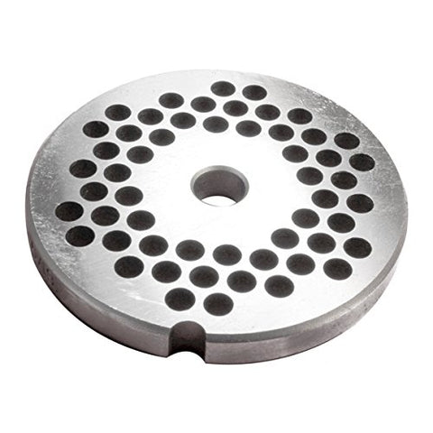 #10/12 Stainless Grinder Plate - 1/4""