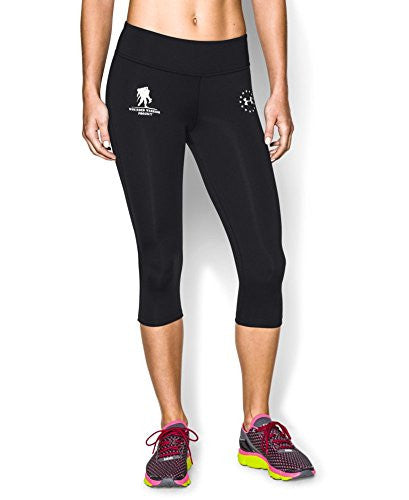 UNDER ARMOUR Women's WWP Capri Black/White Medium