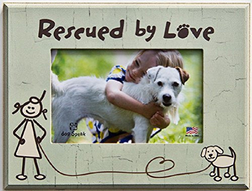 Rescued by Love Picture Frame