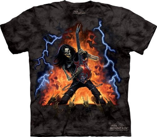 Play With Fire, Loose Shirt - Black Adult Small