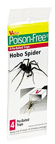 Victor Poison-Free Hobo Spider Traps Pack of 4