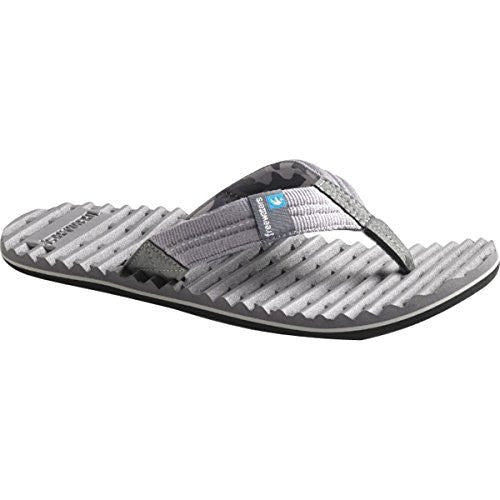 Freewaters Mens Scamp Sandals Footwear, Dark Gray, Sz. 11