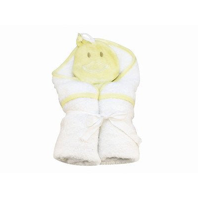 Hooded Towel and Wash Cloth Gift Sets Duck