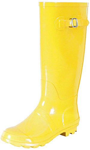 Nomad Women's Hurricane Rain Boot,9 B(M) US,Shiny Yellow
