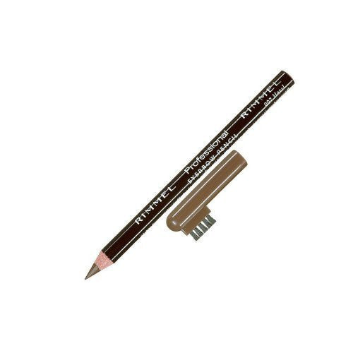 Rimmel London Professional Eyebrow Pencil 002 Hazel (Pack of 2)
