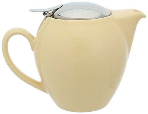 Bee House Ceramic 22 Ounce Round Teapot (Banana)