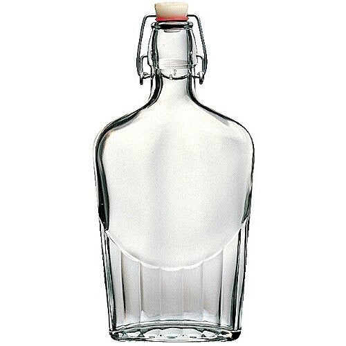 Bormioli Rocco Glass Flask - 0.5 Liter