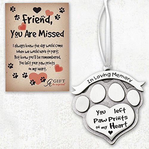 In Loving Memory Pet Memorial Ornament