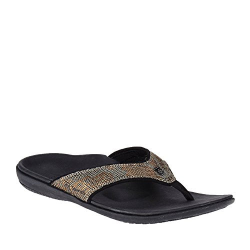 Spenco Yumi Python Women's, Copper Size 9