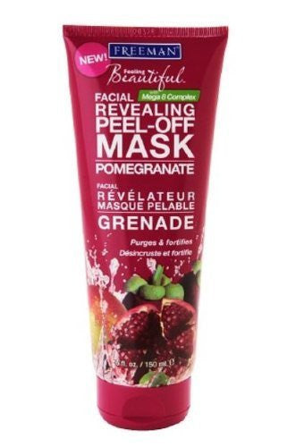 Pomegranate Facial Revealing Peel-Off Mask, 6 oz
