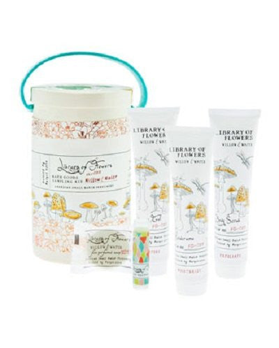 Library of Flowers Field Kit: Bath Goods Sampling Kit (Willow and Water)
