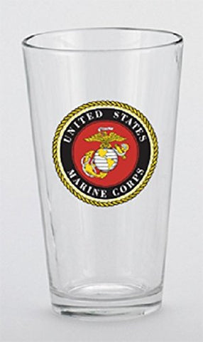 U.S. Marine Corps Mixing Glass, 16 oz 5.75 Inches (not in pricelist)
