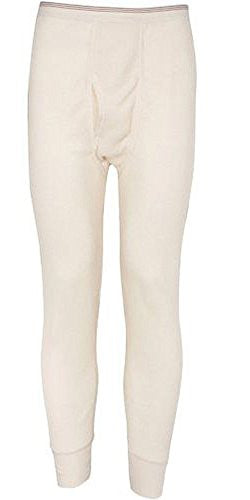 Indera Mills Colored Thermal Long John Bottoms (Natural / Large)
