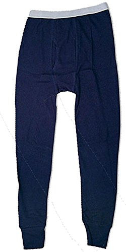 Indera Mills Colored Thermal Long John Bottoms (Navy / Large)