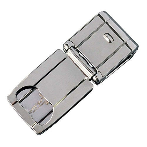 Munich II Polished Gunmetal Cash Clamp with Bottle Opener