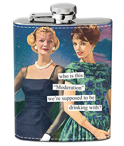 "Flasks - ""who is this ""Moderation"" we're supposed to be drinking with?"""