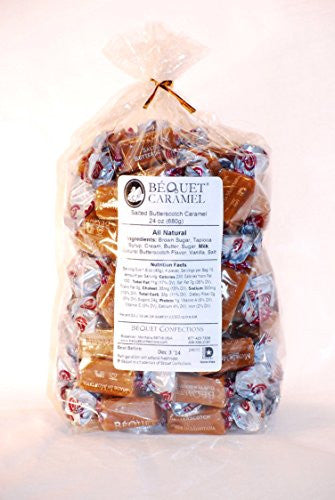 Bequet Gourmet Caramel - 24oz (Salted Butterscotch)