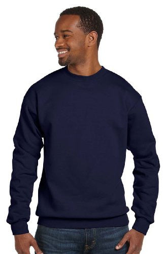 Hanes ComfortBlend Long Sleeve Fleece Crew - p160 (Navy / XXX-Large)