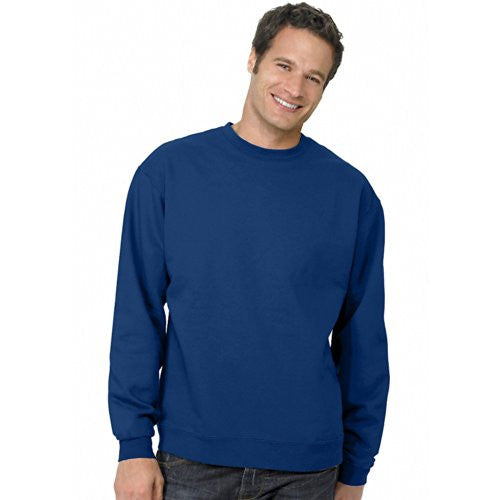 Hanes ComfortBlend Long Sleeve Fleece Crew - p160 (Deep Royal / Large)