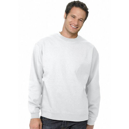 Hanes ComfortBlend Long Sleeve Fleece Crew - p160 (White / Large)