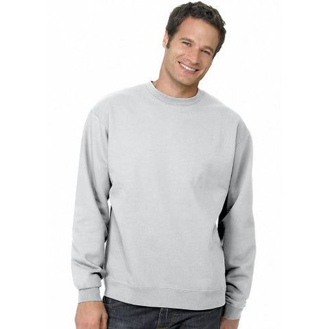 Hanes ComfortBlend Long Sleeve Fleece Crew - p160 (Ash / X-Large)