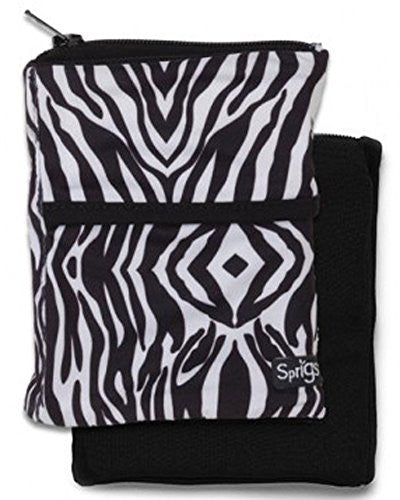 BIG BANJEES WRIST WALLET Breathable, Lightweight, Easy Access to Phone, etc.,One Size,Zebra/Black