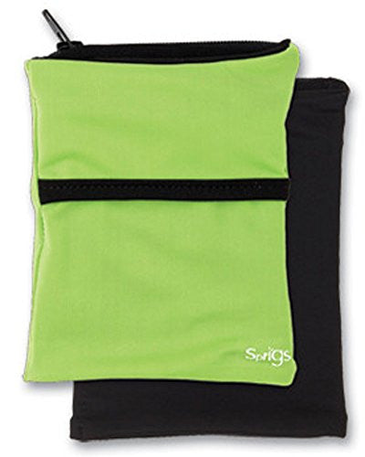 Sprigs Big Banjee Wrist Wallet (Lime/Black / One Size)
