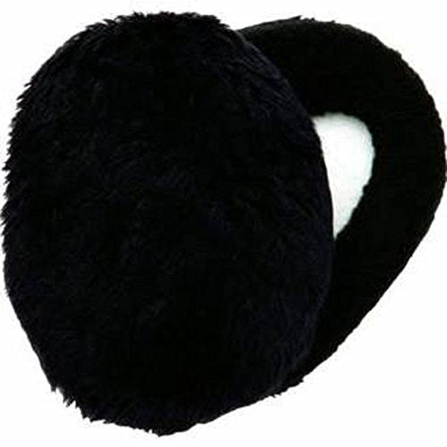 EARBAGS THINSLTE FLEECE GRY LG (Faux Fur-Black / Large)