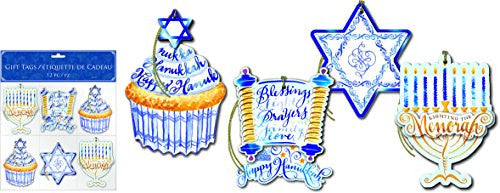 Hanukkah Collection, Gift Tag Assortments Light the Menorah