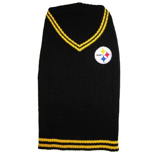 Pittsburgh Steelers Dog Sweater, small