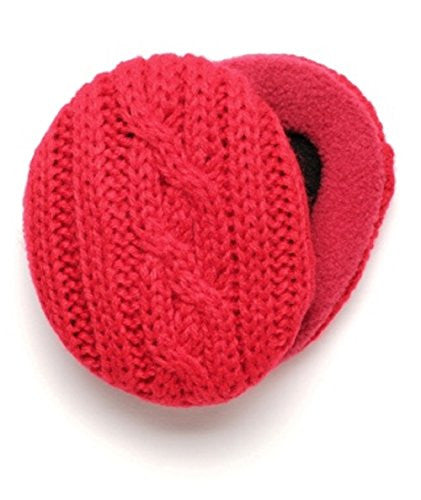 EARBAGS THINSLTE FLEECE GRY LG (Red Cable / Medium)
