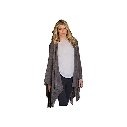 Bamboo Chic Lite Weekend Wrap, Cocoa onesize