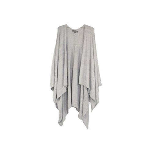 Bamboo Chic Lite Weekend Wrap, Heathered Pewter/Pearl onesize
