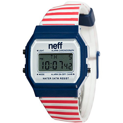 Men's Flava Watch - Red Stripe