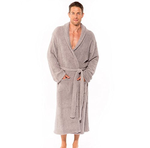 CozyChic Adult Robe Dove 2
