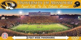 NCAA Licensed 1000 piece Panoramic Stadium Masterpieces Puzzle (Missouri Mizzou Tigers)