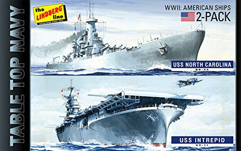 1/1200 Tabletop Navy 2 Pack #1: All Am WWII Ships
