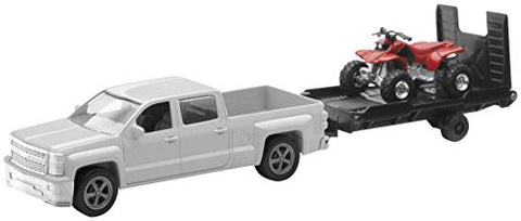 1/43 D/C Chevy Silverado Pick Up with Bike