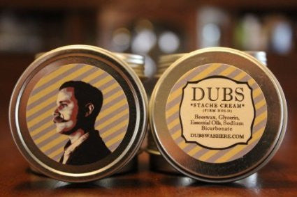 "Dubs Stache Cream ""Firm Hold"""